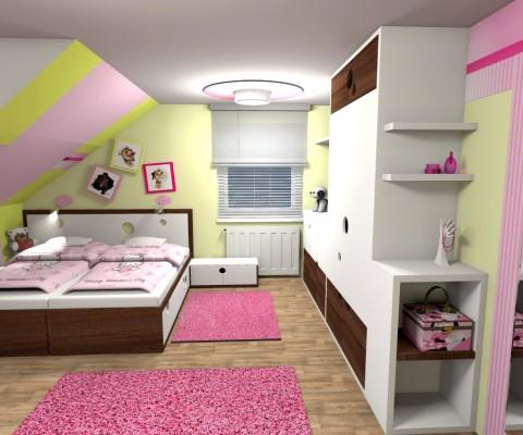 Dětský pokoj s mašlí-0