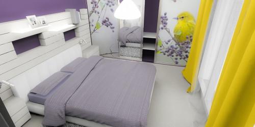 Ložnice s ptáčkem-2