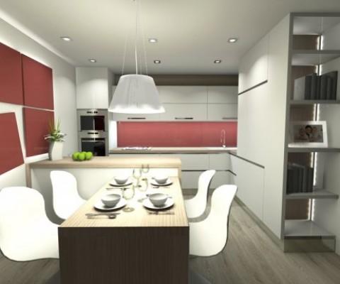 Obývací pokoj s kuchyní 2
